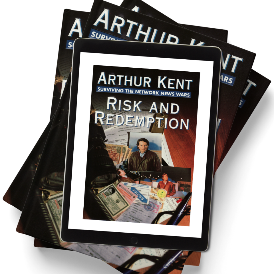 arthur kent risk and redemption book